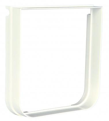 TRIXIE Element rozszerzający do drzwi dla kota, kolor biały