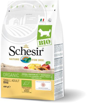 SCHESIR BIO Organic Adult Small karma dla psa 600g