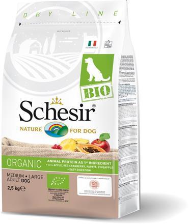 SCHESIR BIO Organic Adult Medium/Large karma dla psa 2,5kg