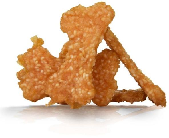 HAU&MIAU Kostki Mięsne Kurczak z Ryżem - przysmak dla psa, 500g