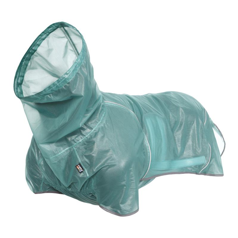 RUKKA HIKE AIR pelerynka przeciwdeszczowa dla psa, szmaragdowa, 9 rozmiarów