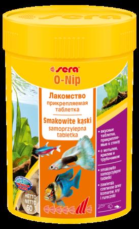 SERA O-Nip - Samoprzylepne tabletki jako przysmak dla zdrowego urozmaicenia