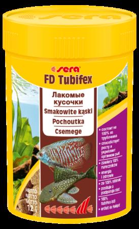 SERA FD Tubifex - naturalny przysmak, 100% z rureczników! 100ml