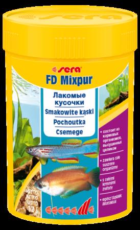 SERA FD Mixpur - Mieszanka przysmaków dla akwariów ogólnych, 100ml