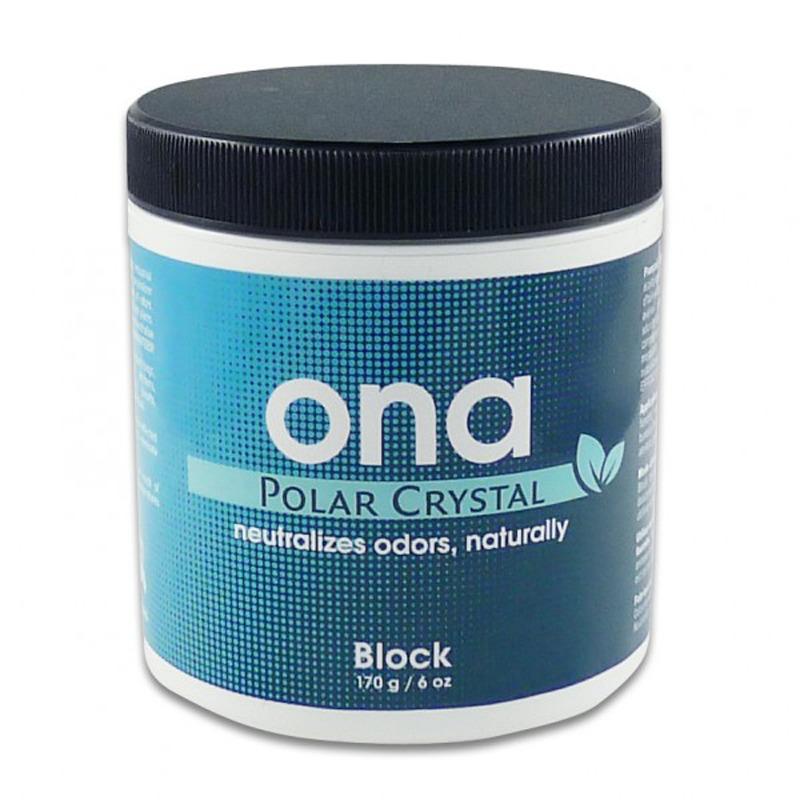 ONA Blok - neutralizator niepożądanych zapachów, Świeży kryształ, blok 170 g