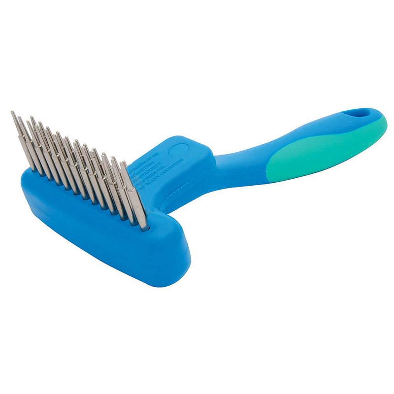 Vivog - grzebień poprzeczny (grabki), 13 pneumatycznych, obrotowych zębów