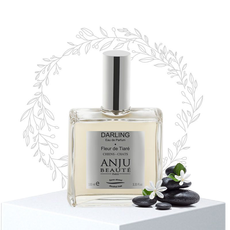 ANJU BEAUTE Darling Ear de Parfum - bezalkoholowa woda perfumowana, gardenia tahitańska, 110 ml