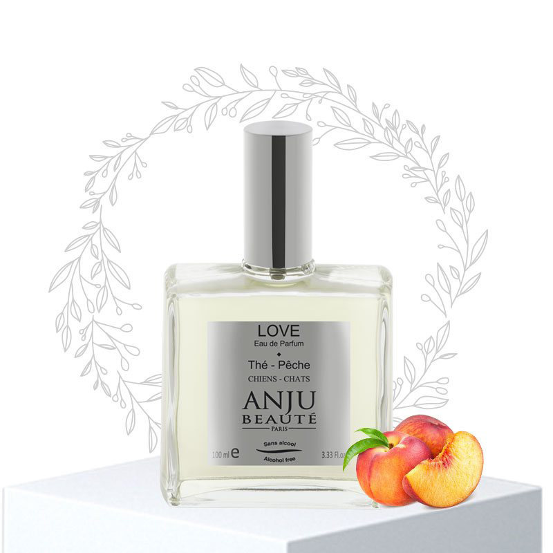ANJU BEAUTE Love Ear de Parfum - bezalkoholowa woda perfumowana, brzoskwinia, 110 ml