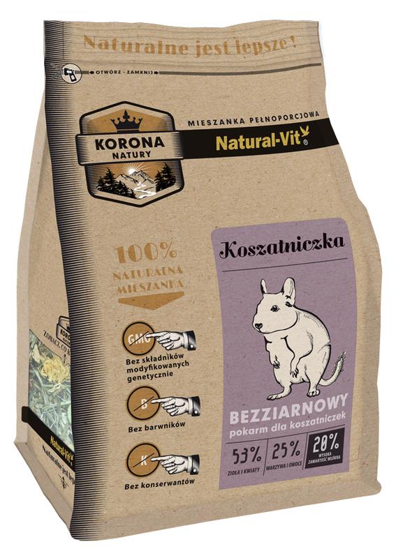 NATURAL-VIT Korona natury - karma dla koszatniczki 750 g