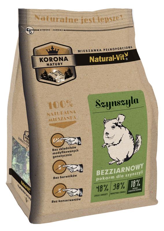 NATURAL-VIT Korona natury - karma dla szynszyli 750 g