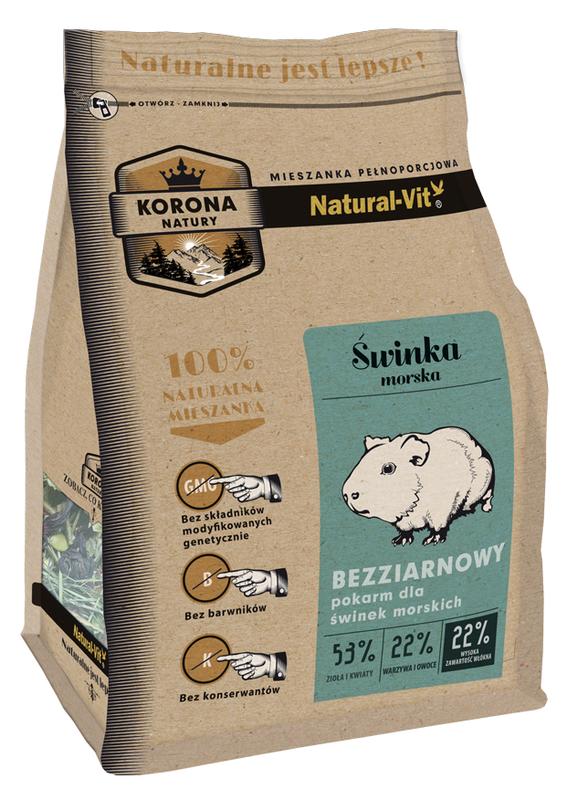 NATURAL-VIT Korona natury - karma dla świnki morskiej 750 g