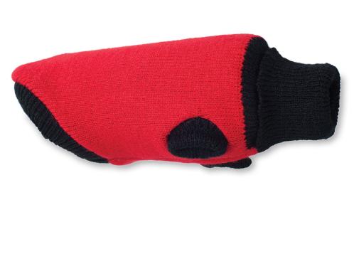 AMI PLAY Sweter Oslo - ubranko dla psa, kolor czerwony