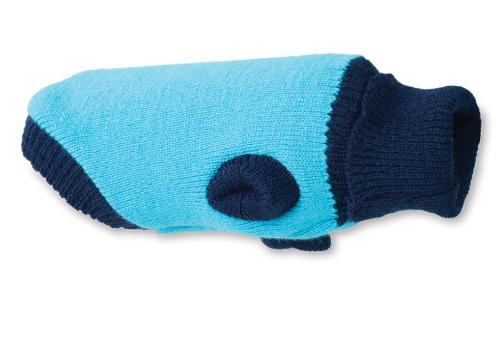 AMI PLAY Sweter Oslo - ubranko dla psa, kolor niebieski