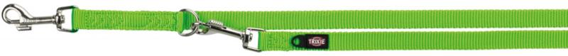 TRIXIE Premium - smycz regulowana dla psa, kolor jabłkowy