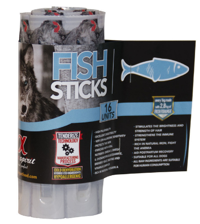 ALPHA SPIRIT Sticks z Rybą - paluszki mięsne dla psa, 16 sztuk
