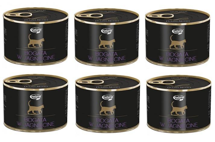 Dolina Noteci CAT pasztet z jagnięciną 6x185g PAKIET! - mokra karma dla kota