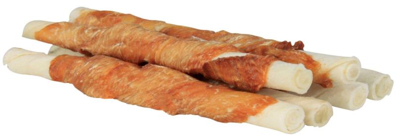TRIXIE Gryzak Denta Fun  - Pałeczki z kurczakiem, 6 szt. 12 cm/70 g