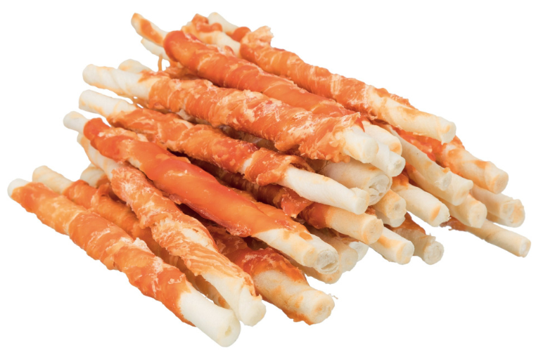 TRIXIE Gryzak Denta Fun  - Pałeczki z kurczakiem, 17 cm 3 szt. /140 g