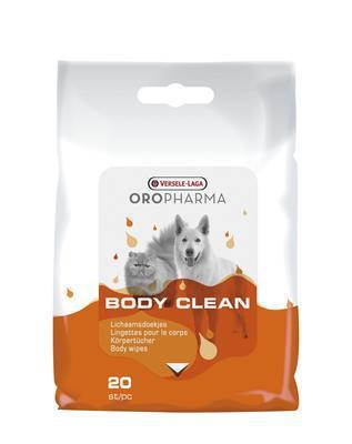 OROPHARMA Body Clean Cats & Dog chusteczki 20szt