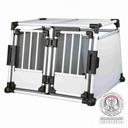 TRIXIE Podwójny transporter aluminiowy