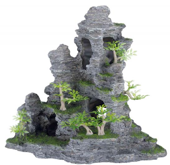 TRIXIE Formacja skalna - Ozdoba do akwarium, 31 cm wysokości