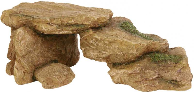 TRIXIE Dekoracja Skała - Ozdoba do akwarium, 15 cm