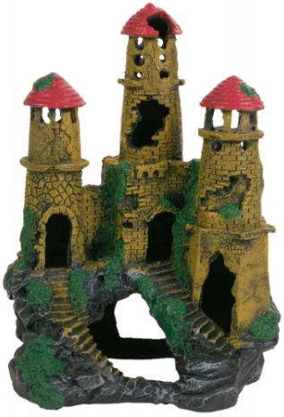 TRIXIE Trzy Wieże - Ozdoba do akwarium, 20cm