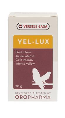 OROPHARMA Yel-lux naturalny żółty barwnik dla ptaków 20g i 200g
