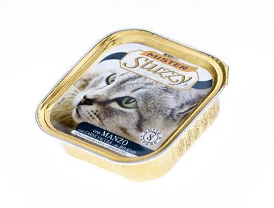 STUZZY Wołowina mokra karma dla kota, tacka 100g