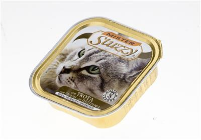 STUZZY Pstrąg mokra karma dla kota, tacka 100g