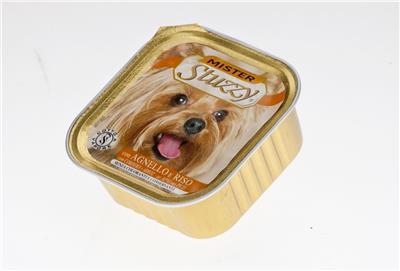 STUZZY Jagnięcina i ryż mokra karma dla psa, tacka 150g