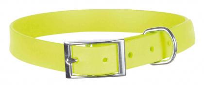 TRIXIE Obroża Easy Life dla psa, neonowo żółta
