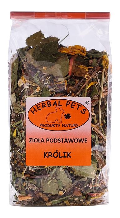 Herbal Pets - zioła podstawowe, królik, 150g