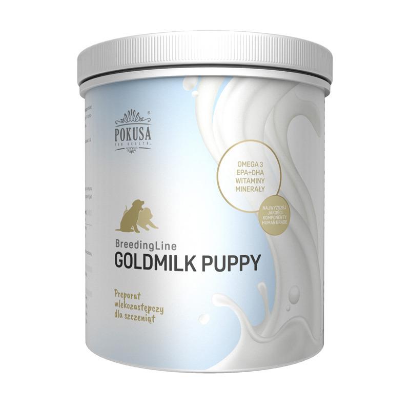 POKUSA BreedingLine GoldMilk puppy - pełnoporcjowy preparat mlekozastępczy dla szczeniąt 500 g