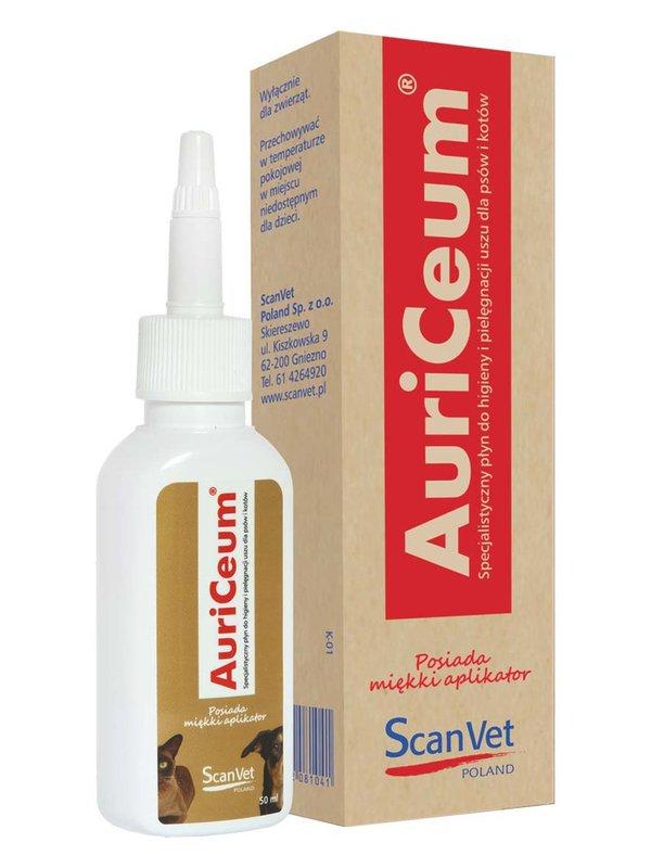 SCANVET Auriceum do uszu dla psa i kota 50ml
