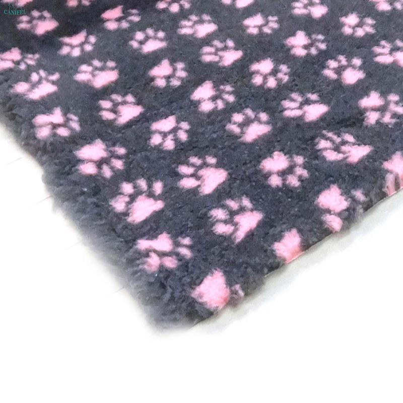 DRY BED Small Paw Grafitowo/Różowe - posłanie dla psów i kotów
