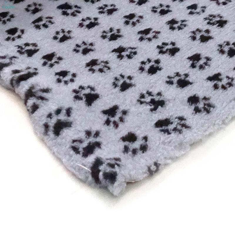 DRY BED Small Paw Szaro/Czarny - posłanie dla psów i kotów