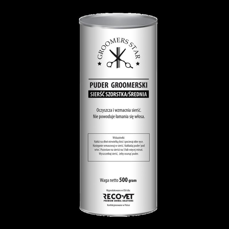 GROOMERS STAR Puder groomerski sierść szorstka oraz średnia