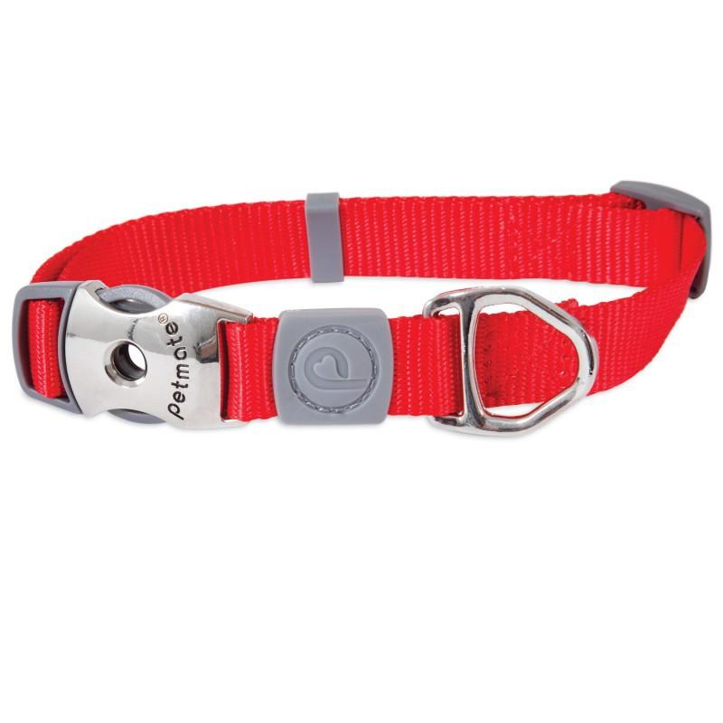 PETMATE Obroża Signature dla psa, kolor czerwony