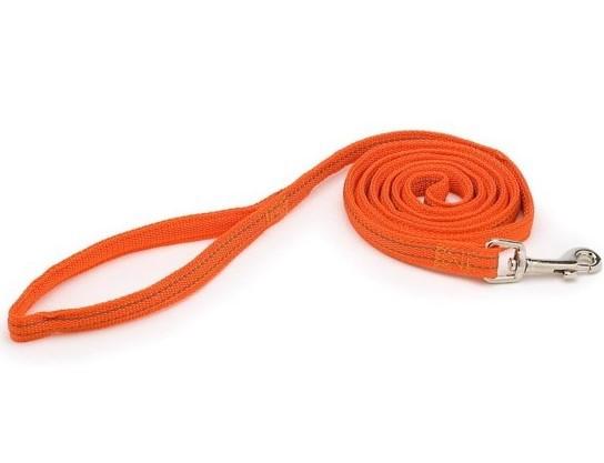 PETMATE Smycz odblaskowa dla psa, kolor pomarańczowy