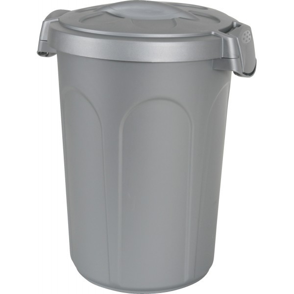 ZOLUX Jerry - Plastikowy pojemnik na karmę, szary