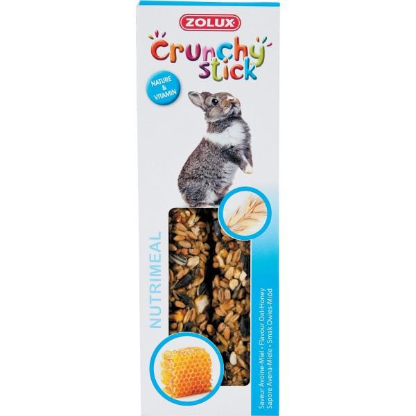 ZOLUX Crunchy Stick - kolby dla królika, owies i miód