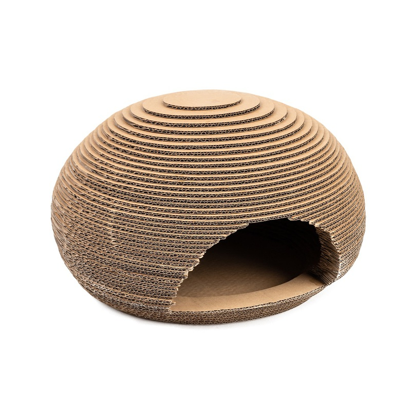 SANDEZIA Bee House tekturowy drapak w kształcie ula
