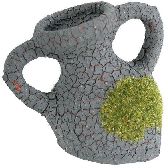 ZOLUX Etna Fragment Amfory z mchem - Ozdoba do akwarium