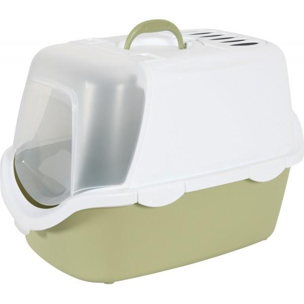 ZOLUX Toaleta CATHY Easy Clean z filtrem dla kota,  zielona
