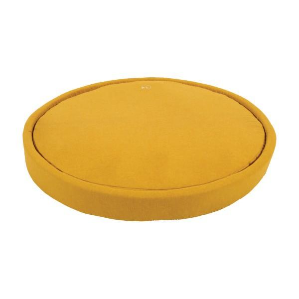 ZOLUX Okrągła poduszka MILANO dla psa, kolor musztardowy