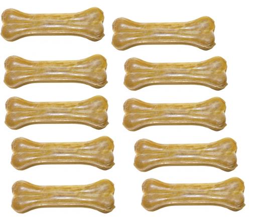 HAU&MIAU Kość Naturalna prasowana 26,5 cm, 9 szt. - naturalny gryzak ze skóry