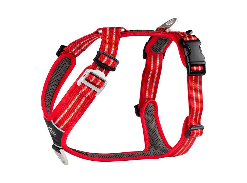 DOG COPENHAGEN Comfort Walk Air - szelki dla psa w kolorze czerwonym