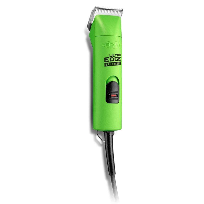 Andis AGC Super 2 Speed Brushless- maszynka sieciowa z silnikiem bez-szczotkowym, dwubiegowa, z nożem ceramicznym 1.5 mm, zielona