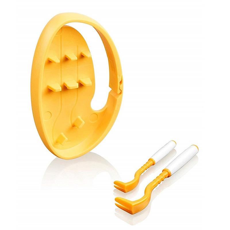 Tick Twister Clip Box - kleszczołapki, zestaw 2 szt (małe i duże) w pudełeczku, kolor pomarańczowy